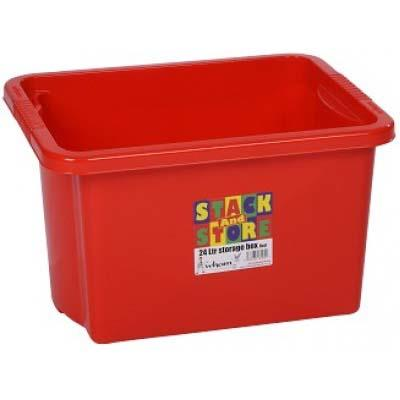 STACK & STORE BOX 35lt - RED