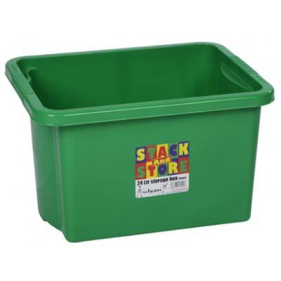 STACK & STORE BOX 35lt - GREEN
