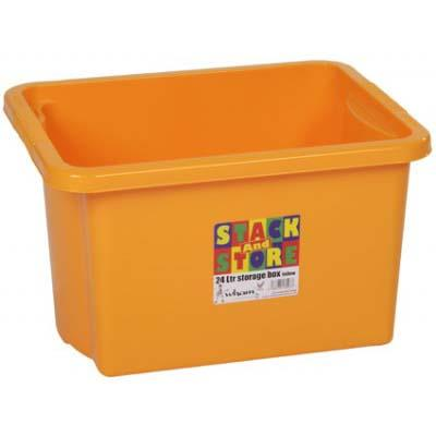 STACK & STORE BOX 35lt - YELLOW