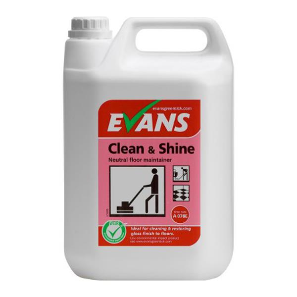 EVANS CLEAN & SHINE FLOOR MAINTAINER 5L