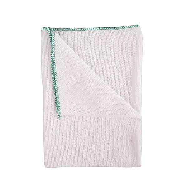DISHCLOTH - GREEN EDGE 10pk