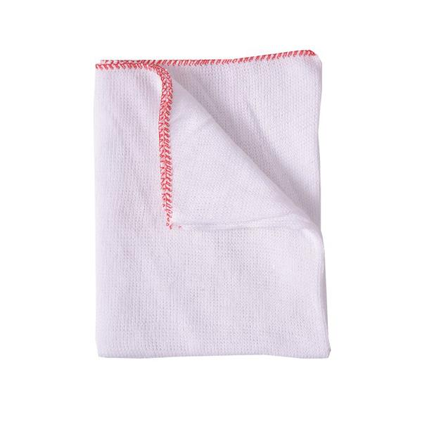 DISHCLOTH - RED EDGE 10pk