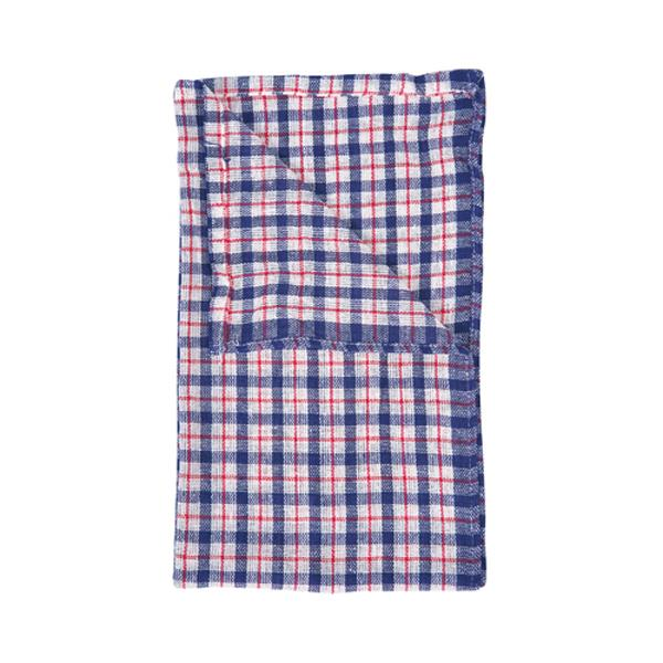 "Coloured Check Tea Towels 17""x27""- 10pk"