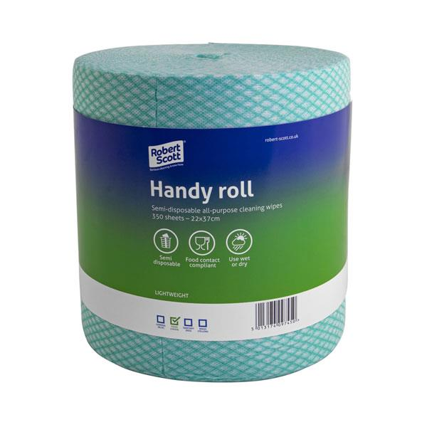 J-TYPE WIPING ROLL - Green 350 sheet