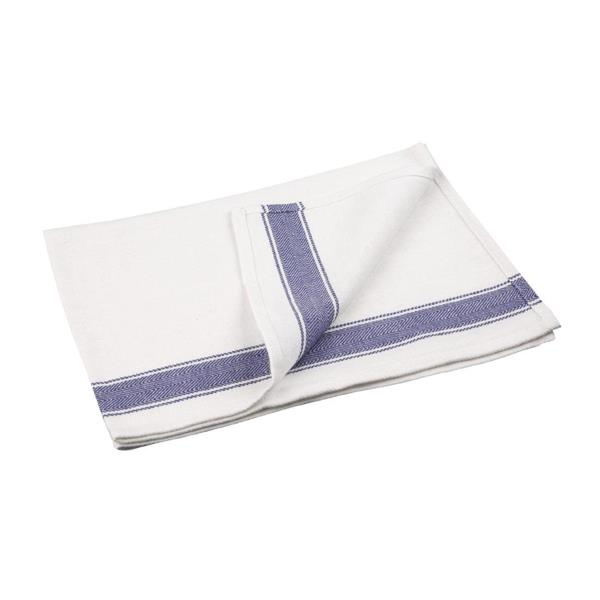 Vogue Heavy Blue Tea Towel