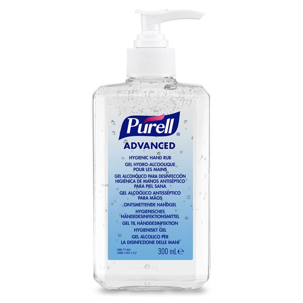PURELL HAND RUB SANITISER 300ml PUMP
