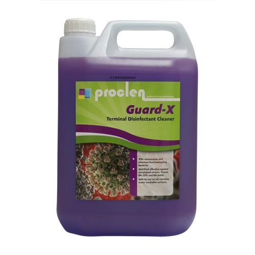 PROCLEN GUARD-X Disinfectant Cleaner 5lt