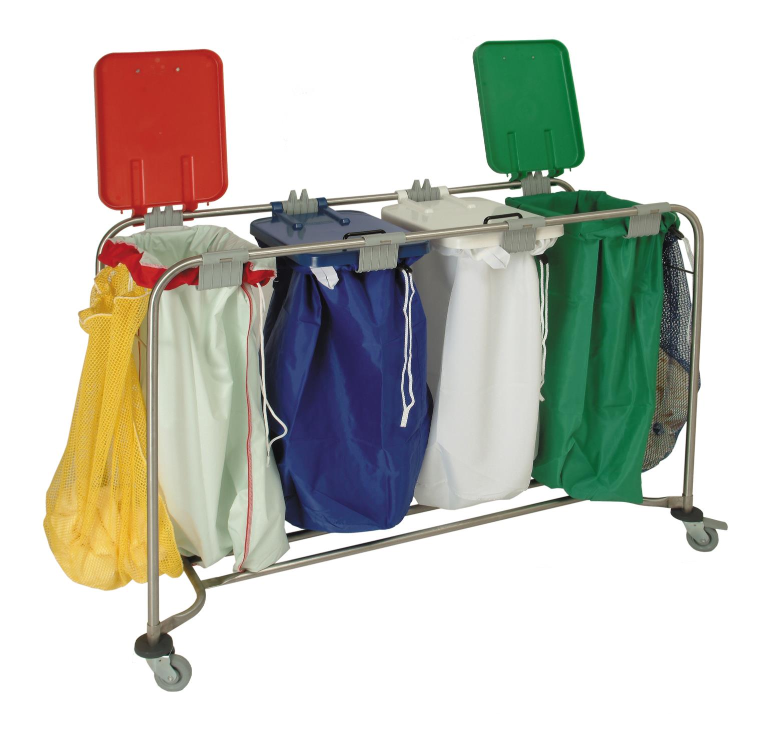 LAUNDRY CART - 4 BAG
