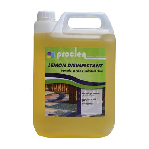 PROCLEN LEMON DISINFECTANT 5lt