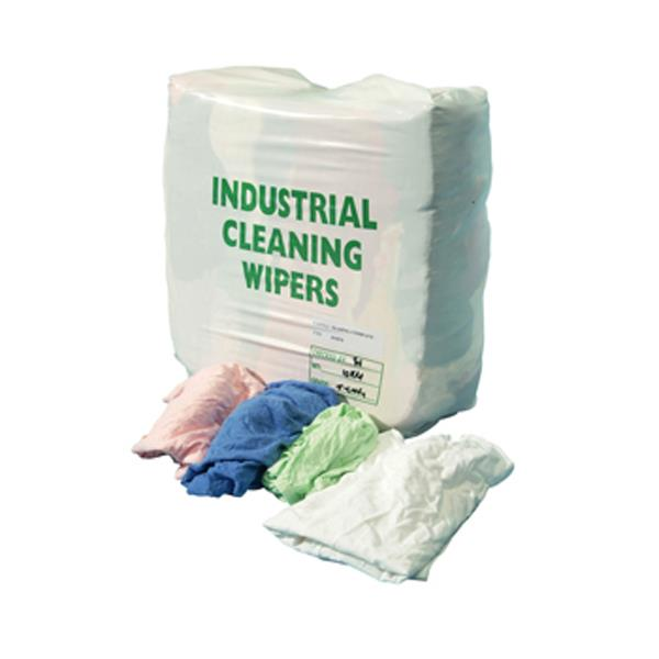 INDUSTRIAL CLEANING WIPING RAGS 10kg
