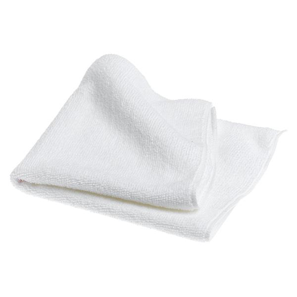 WHITE MICROFIBRE CLOTHS 10pk