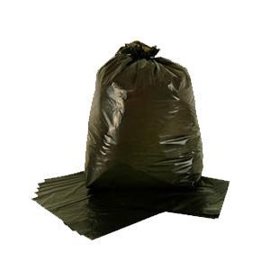 M.D. BLACK REFUSE SACKS 200pk