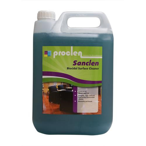 SANCLEN DISINFECTANT CLEANER 5lt
